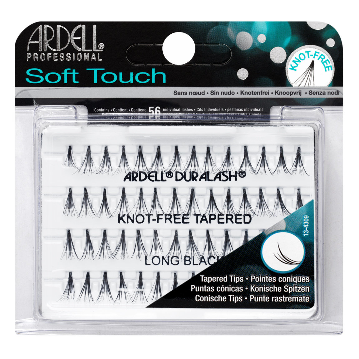 Ardell Soft Touch Individuals Knot-Free Lashes Long Black