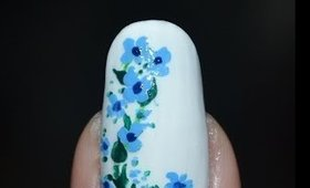 Pastel Flowers for Spring Nail Art Tutorial