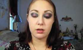 Sexy Red and Smokey Black Darkened Vampire Eyes - Inspired by Jane from New Moon & Twilight