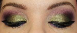 Both Eyes Batwing liner!