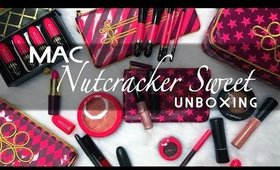 MAC Nutcracker Sweet Holiday Collection UNBOXING