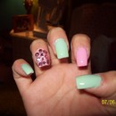 Pink And Mint :)