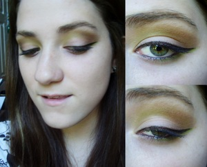 Army Inspired makeup