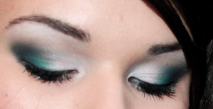 Navy/Teal Smokey Eye- see makeupbykailanmarie.blogspot.com for more info