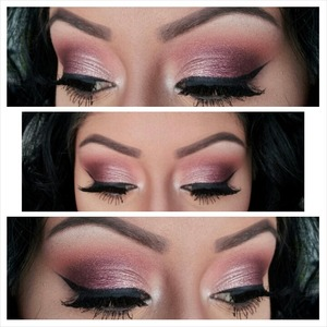 1)Started off with the Anastasia Brow Wiz in Ebony to fill in my brows