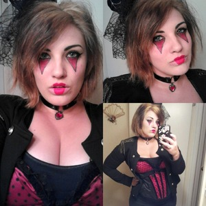 Possibly my fave look I did for halloween