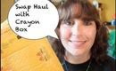 Swap Haul with Crayon Box