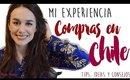 Compras en Chile: mi experiencia, consejos y tips! [Hache Beauty - Argentina]