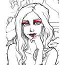 Rally Girl Makeup Blue & Red