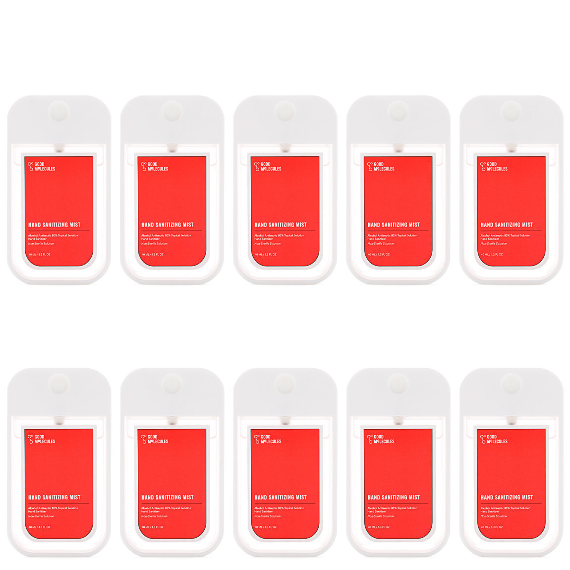 Good Molecules Hand Sanitizing Mist Family Pack alternative view 1 - product swatch.
