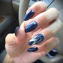 Gatsby Navy nails