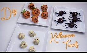 Cute & Easy Halloween Treats