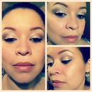 natural with winged eye