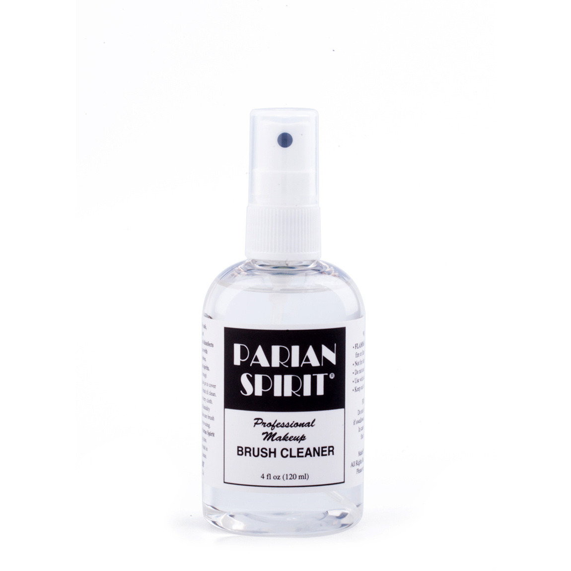 Parian Spirit Professional Makeup Brush Cleaner 4 oz. product swatch.