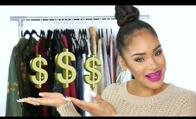 HOW I MADE $2500 ON POSHMARK + SHOP MY CLOSET!