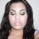 Tropical Green Smokey Eye Make-up Tutorial!