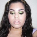 Tropical Green Smokey Eye Make-up Tutorial!
