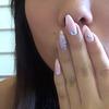 Heart outline nail art tutorial