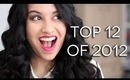 Top 12 Best Beauty Products of 2012
