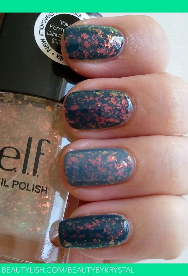 ELF Fairy Dust - flaky nail polish | Krystal C.\'s (BeautyByKrystal ...