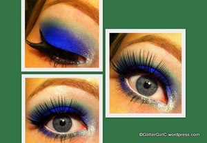 Blue NYE look! :)