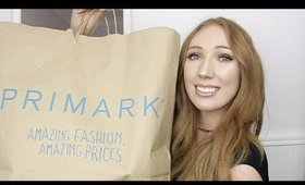 Spring & Summer PRIMARK HAUL!   + TRY ON   EVERYTHING LESS THAN £15!