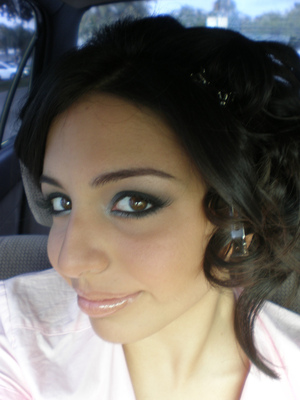 Makeup for my prom in '08