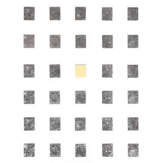 Square Metal Stickers