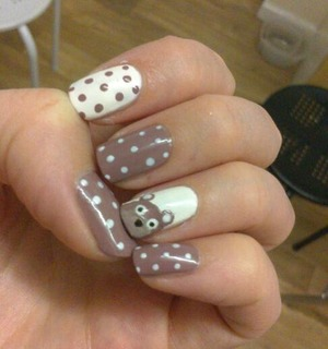 teddies and polka dots =D