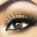 Bridal look with fun lashes 2