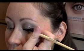 Makeup Lesson with new Sparkly Bobbi Brown Metallic Long-Wear Cream Shadows