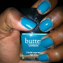 my first Butter London Polish