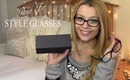 How to Style Glasses 3 Outfits + Classic Specs Review | TheStylesMeow