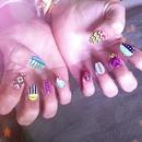 Festival nails!