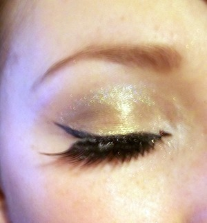 New Year's Eve look! Tutorial: http://colourbymakeup.blogspot.com/2011/12/new-years-eve-look-video-tutorial.html