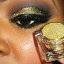 24K Gold Holiday Look