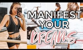 MANIFEST YOUR 2020 DREAMS | How To: Vision Board For Success