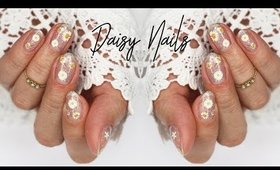 Spring Daisies | Nail Art using TwinkledT Products ♡