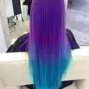 Blue and purple:)
