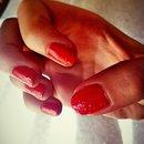 Matte nail with leopard tone su tone
