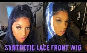 HOW TO MELT & STYLE SYNTHETIC LACE FRONT WIG