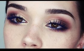 makeup tutorial | neutral with a pop