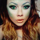 Halloween Mermaid Makeup