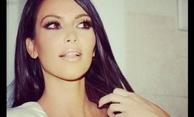 KIM KARDASHIAN First date makeup tutorial