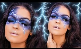LIGHTNING Makeup Tutorial 🌩
