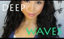 Deep Waver Hair Tutorial + AWESOME DISCOUNTS