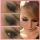 Black Smokey Eye Look!