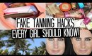 Top 10 Fake Tanning Hacks Every Girl Should Know!