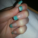 turquoise water marble