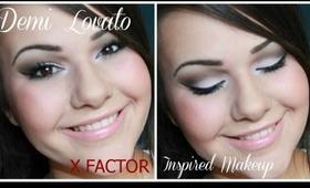 TUTORIAL: Demi Lovato X Factor Inspired Makeup